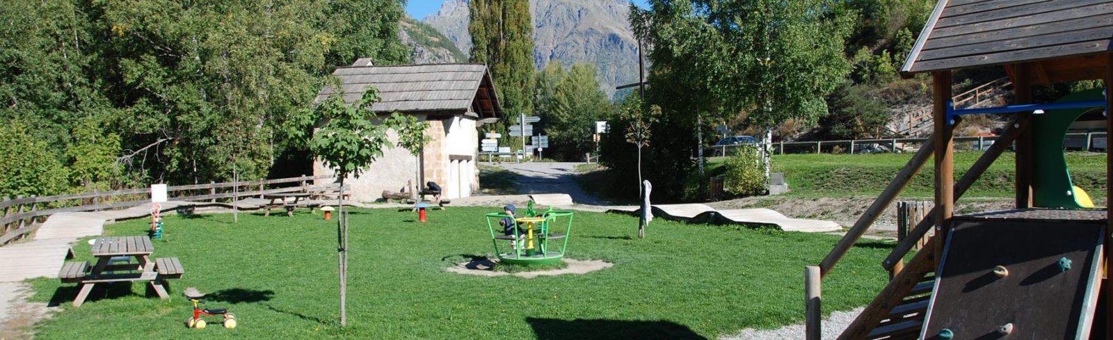 Parc enfants Vallouise